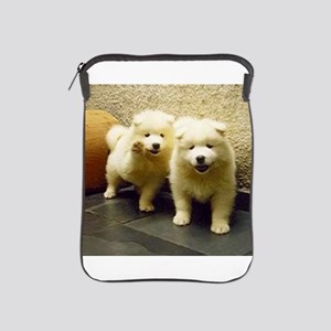 LS samoyed puppy iPad Sleeve
