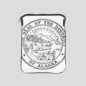 Vintage Alaska State Seal iPad Sleeve