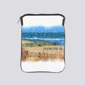 Ocean City NJ Beach iPad Sleeve