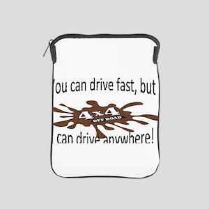 4x4 Drive anywhere! iPad Sleeve