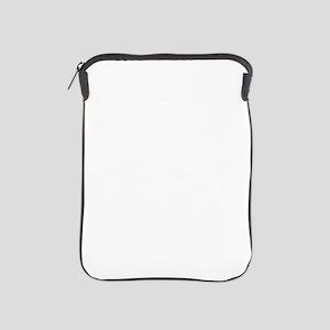 Krampus And Santa Claus Are Here iPad Sleeve