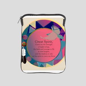 3-SpiritSHEILDpts iPad Sleeve
