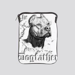 The Pit Bull Dog Father iPad Sleeve
