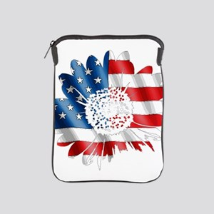 Patriotic Sunflower iPad Sleeve