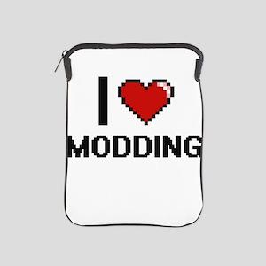 I Love Modding Digital Design iPad Sleeve