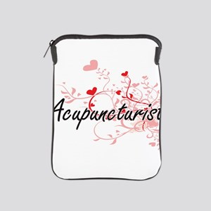 Acupuncturist Artistic Job Design with iPad Sleeve