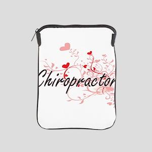 Chiropractor Artistic Job Design with iPad Sleeve