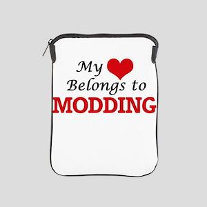 My heart belongs to Modding iPad Sleeve