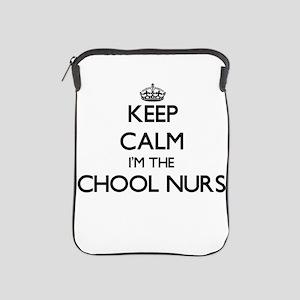 Keep calm I'm the School Nurse iPad Sleeve