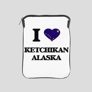 I love Ketchikan Alaska iPad Sleeve