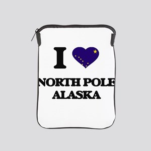I love North Pole Alaska iPad Sleeve