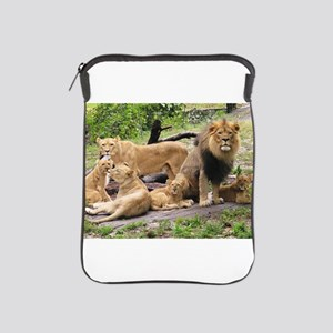 LION FAMILY iPad Sleeve