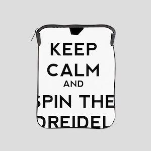 Keep Calm and Spin the Dreidel iPad Sleeve