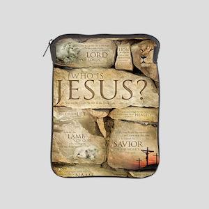 Names of Jesus Christ iPad Sleeve