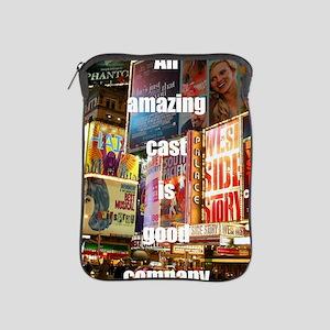 An amazing cast is good company iPad Sleeve