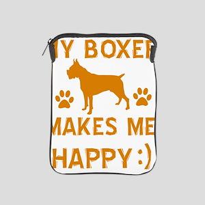 Boxer dog breed designs iPad Sleeve
