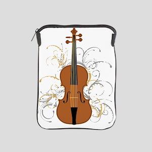 Violin Swirls (for dark colours) iPad Sleeve