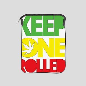 weed cannabis 420 t-shirt iPad Sleeve
