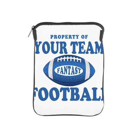 Property of Fantasy Your Team Blue iPad Sleeve