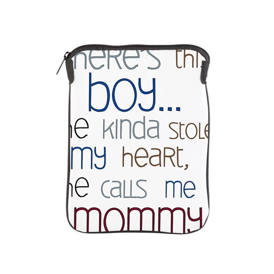 Baby Boy Quote for Mom iPad Sleeve