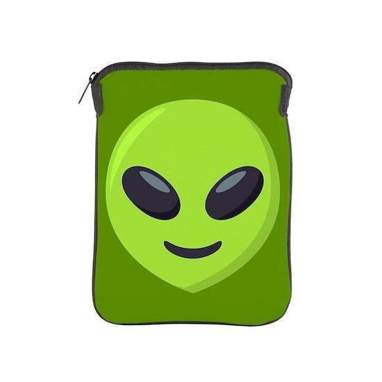 Alien Emoji iPad Sleeve