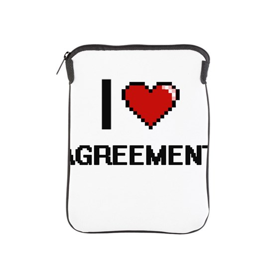 I Love Agreement Digitial Design