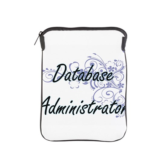 Database Administrator Artistic Job Design with Fl