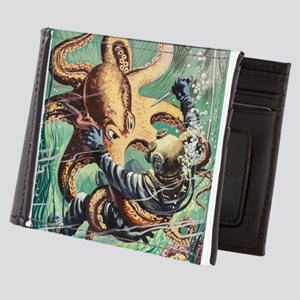 Diver vs Octopus Mens Wallet