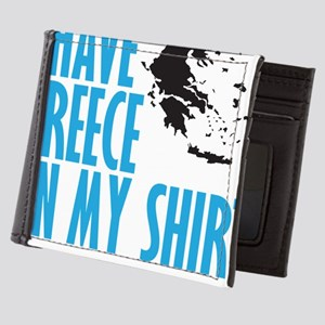 greece on my shirt Mens Wallet