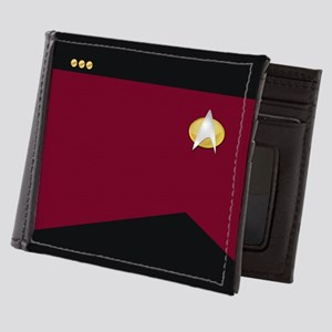 Star Trek: TNG Red Commander Mens Wallet