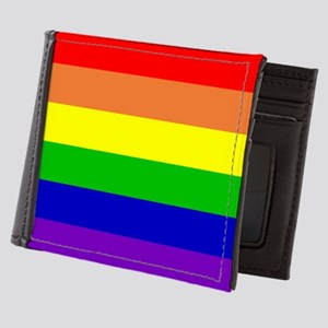 Rainbow Flag Mens Wallet