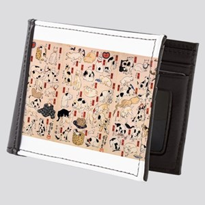 Japanese Cats Mens Wallet