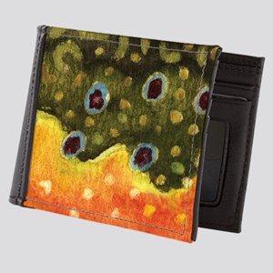Brook Trout Fly Fishing Mens Wallet