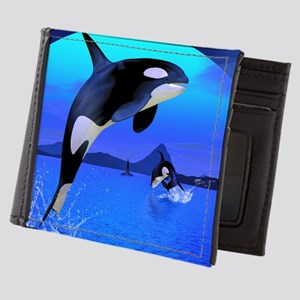 orca_Rectangular Canvas Pillow Mens Wallet