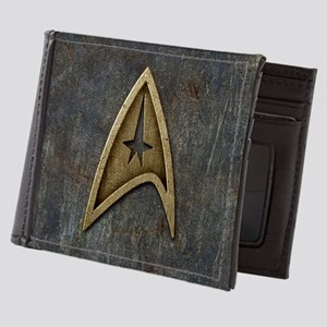 Star Trek Insignia Grunge Mens Wallet