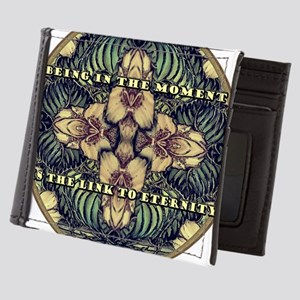 BEING IN THE MOMENT IS THE LINK TO ETE Mens Wallet