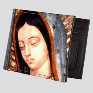 Guadalupe Virgin Mary Mens Wallet