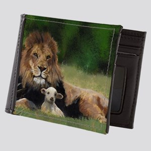 e53776d3c2473 You Are Never Alone Mens Wallet