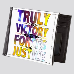 TRULY A VICTORY FOR THE FORCES OF JUSTICE Mens Wal