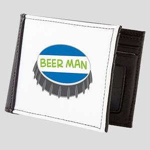 Beer Man Mens Wallet