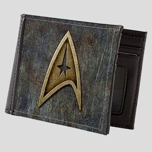 Star Trek Insignia Grunge Mens Wallet