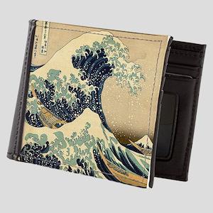 Japanese Waves Mens Wallet