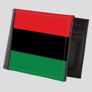 The Red, Black and Green Flag Mens Wallet