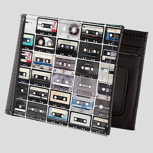Cassette Tapes Mens Wallet