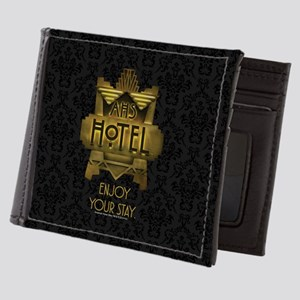 AHS Hotel Enjoy Your Stay Mens Wallet