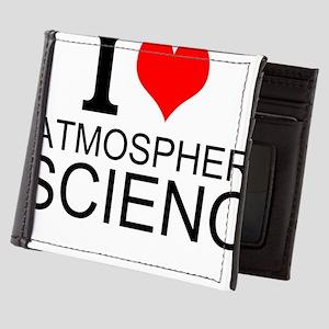 I Love Atmospheric Science Mens Wallet