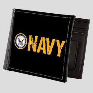 U.S. Navy: Navy (Black) Mens Wallet