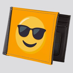 Sunglasses Emoji Mens Wallet