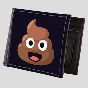 Poop Emoji Mens Wallet