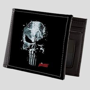 Punisher Skull Glass Mens Wallet